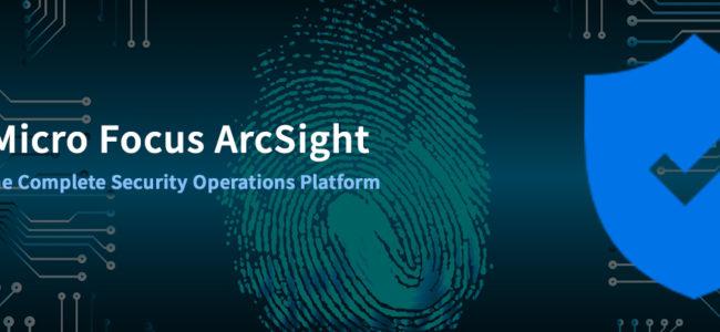 Micro Focus ArcSight – The Complete Security Operations Platform